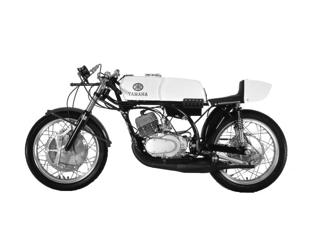 Yamaha TD2-TD2B Air Cooled (1968-1970)