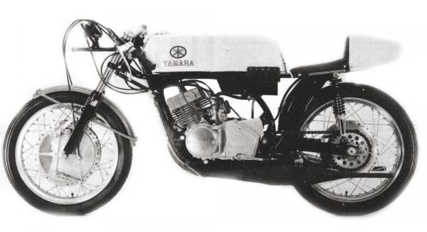 Yamaha TR2 - TR2B Air Cooled (1968-1970)
