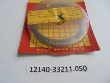 12140-33211-0.50 Ringset 1e oversize Suzuki GSX400F