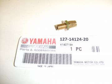 127-14124-20 Screw top cap adjusting Mikuni Yamaha racing untill 1977 / TZ250 F-G