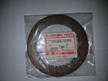 13089-1065 Plate clutch steel KX125