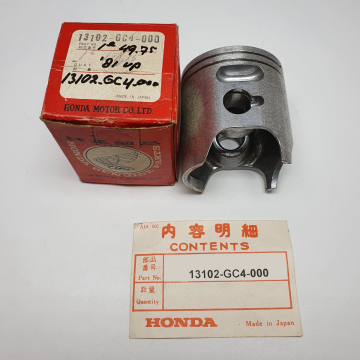 13102-GC4-000 Piston 1e oversize 49.75 CR80 1981 up