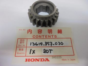 13615-357-030 gear, primary drive 20T CR250