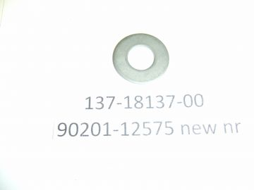 137-18137-00 / 90201-12575 Washer gear shift lever TR2-3/TD2-3 / TZ250/TZ350 bikes