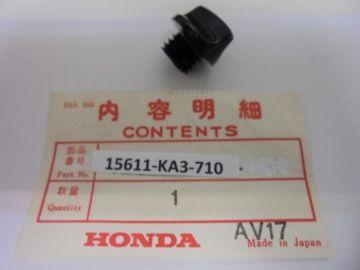 15611-KA3-710 Cap, screw oil filter CR125/250/500