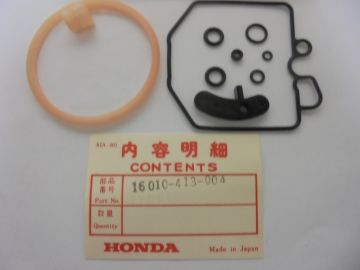 16010-413-004 Gasket set float chamber Honda '76 up