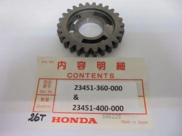 23451-360-000 / 23451-400-000 nw Gear, 26T CR125