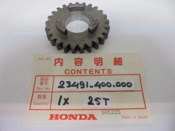 23491-400-000 new gear, 25T CR125