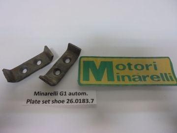 26.0183.7 plate set on shoes Minarelli G1/V1 autom.