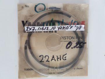 2X7-11612-10 Ringset piston 1e over 0.25 Yam.YZ250F'78