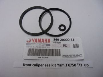 360620000-51 Cal.sealkit front Yam.TX750 '73 up