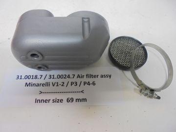 31.0018.7 / 31.0024.7 Air filter assy V1 / P3 / P4 / P6