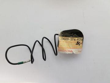 33609-374-670 Stopper left rear flash light CB550 / CB750