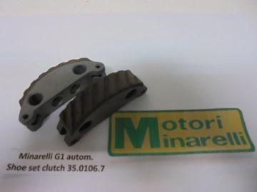 35.0106.7 Clutch shoe set Minarelli V1/G1 autom.