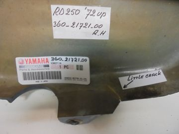 360-21721-00 Cover R.H.Yam.RD250'72 up >used