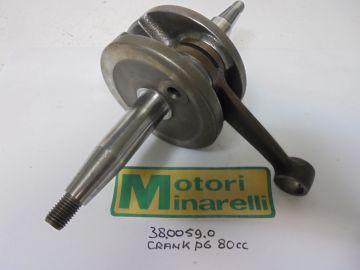 38.0059.0 Crank assy Min.P6 80cc Corsa Corta new