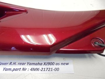 4KM-21721-00 Cover R.H.side rear Yam.XJ900'97 up as new