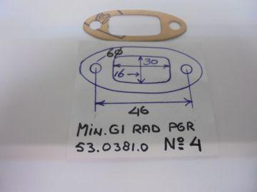 53.0381.0 Gask.pipe inlet carburetor Minarelli G1 / P4 / 6R