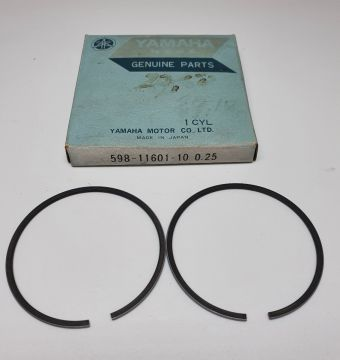 598-11601-10 Piston ringset 0.25mm YZ80