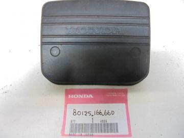 80125-166-660 Plate, rear fender back MB5
