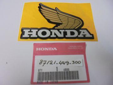 87121-449-300 Emblem R.H.fueltank Honda CX500C