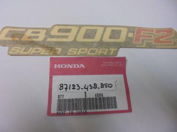 87123-438-850 Emblem cover CB900F2 super sport