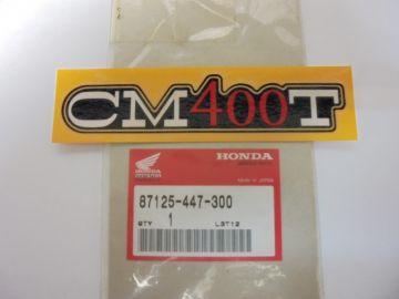 87125-447-300 Emblem cover Honda CM400T'77 up