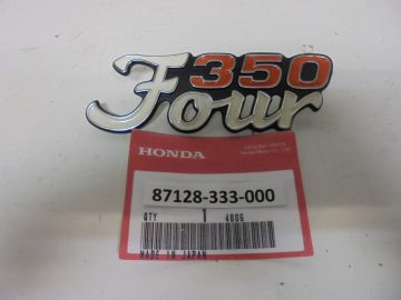 87128-333-000 Emblem cover Honda CB350F '73 up new