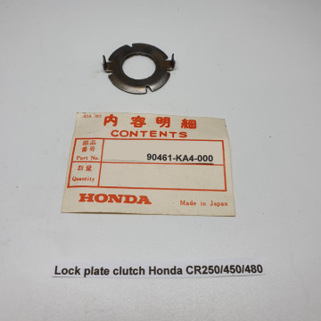 90461-KA4-000 Lock plate clutch CR250/450/480