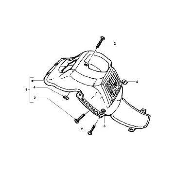 Gilera Runner Front Fender Inner