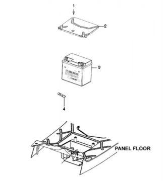 Kymco Agility 16'' 4-Stroke Battery