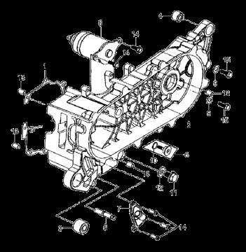 SYM Mio Start Motor