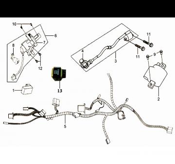 SYM Mio Wiring Harness