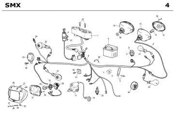 Rieju SMX 2004 Electrical Parts