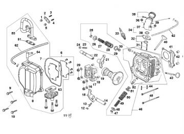 AGM VX-50 / Classic LX Cylinder Head