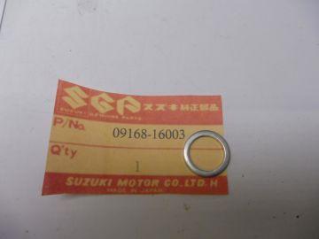 09168-16003 Gasket oil cooler, valve DR250 / DR350 / DR650 / GSX / GSXR