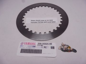 Clutch plate TX750 used as new