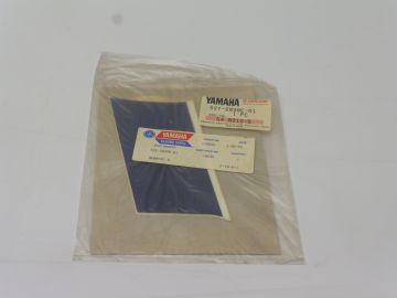 52Y-2839E-01 Sticker blue square cover RD350F