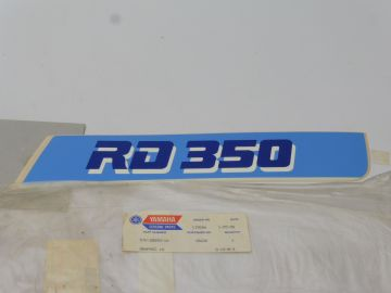 57V-2839G-10 Graphic (1) decal cover shroud RD350F