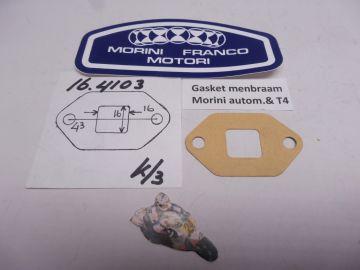 Gasket read valve Morini Automatic T4