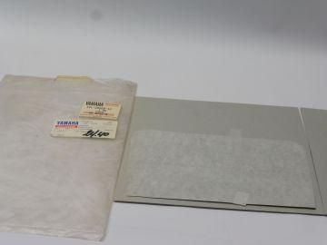 34L-28368-10 Emblem sticker XT600