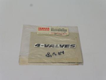 55V-21787-30 Emblem 4-valves XT350
