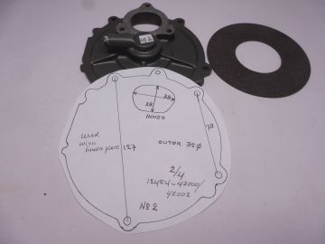 Used with new inner plate seat, outer 1 & 3 RG500 Mk.1 untill Mk.6