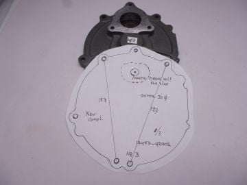 New seat outer 2 & 4 only need inner hole RG500 Mk.1 to Mk.6