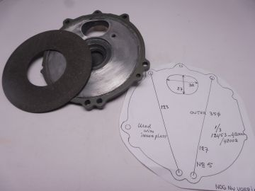 Used with new inner plate seat outer 2 & 4 RG500 Mk.1 to Mk.6