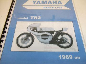 Partsbook TR2/TR2B  Yamaha racing