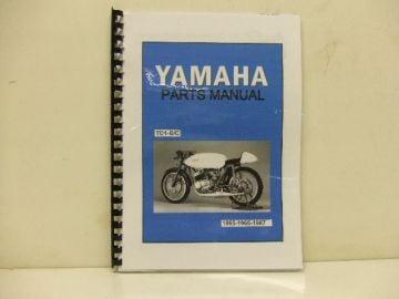 Partsbook TD1 B/C Yamaha racing