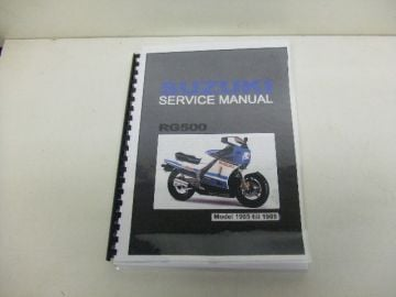 Service/parts comb.manual road bike RG500English