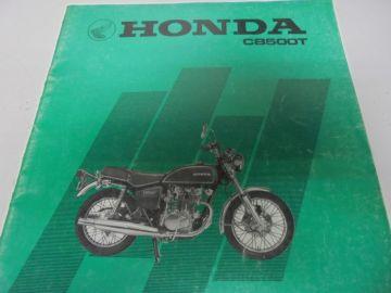 New partbook Honda CB500 T-2