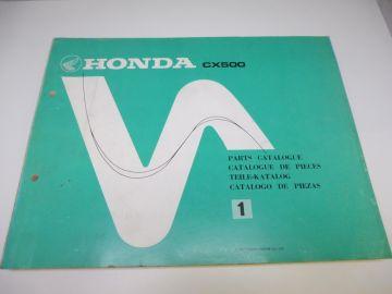 New partbook Honda CX500